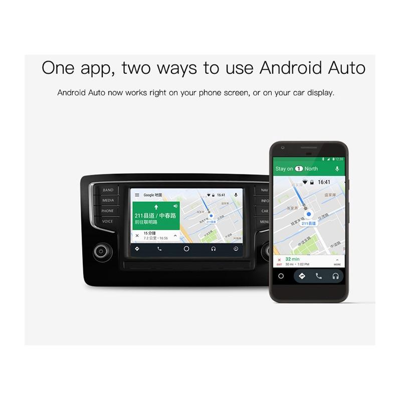 Nouvelle génération USB CarPlay Dongle pour Android multimédia GPS Radio avec micro intégré Siri commande vocale CarPlay et Android Auto - 4