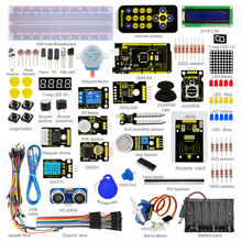 HI-Q&HOT SALE! New Packing Keyestudio Super Starter Learning Kit/Starter Kit for Arduino With MEGA 2560R3 +PDF