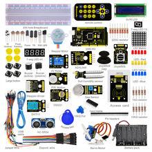 ВЫСОКОЕ КАЧЕСТВО и ГОРЯЧЕЙ ПРОДАЖУ! новый Keyestudio Супер Стартер Обучение Kit/Starter Kit для Arduino С МЕГА 2560R3 + PDF