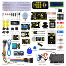 ለ Arduino መነሻ ገዢ ስብስብ የ Keyestudio Super Starter Kit / በ Mega2560R3 / LCD1602 / RFID / Relay / DS3231 + ፒዲኤፍ + 32Projets & STEM