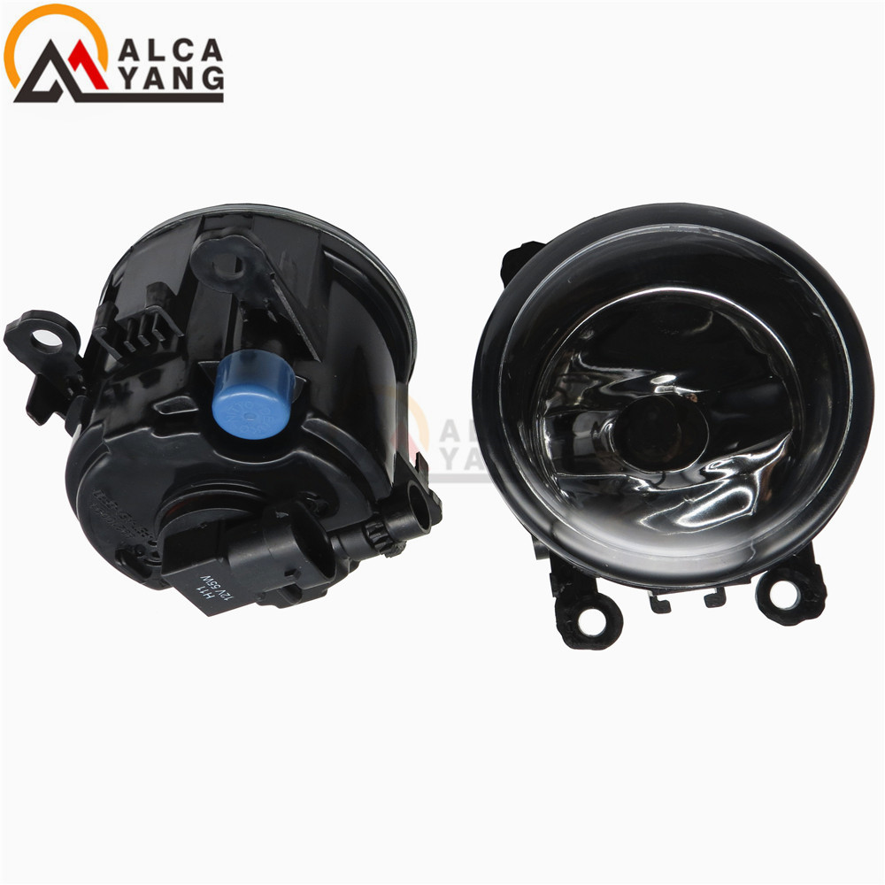 Malcayang Angel Eyes Car styling LED / Halogen fog lights fog lamps For FORD FOCUS MK2 2004-2010 12V 2 PCS for lexus rx gyl1 ggl15 agl10 450h awd 350 awd 2008 2013 car styling led fog lights high brightness fog lamps 1set