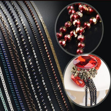 popular Nail metal chain 20cm steel dyi nail decorative nail ball chain nail high quality metal Variety of options
