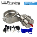 "WLRING STORE- NEW vacuum Activated Exhaust Cutout 2""51MM or 2.4""60mm or 2.5""63mm Close Style with Wireless Remote Controller Set"