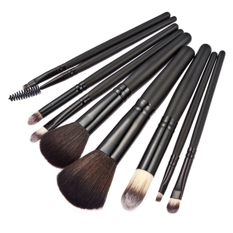 9pcs maquiagem unicorn makeup brushes set eyeshadow pro cosmetic makeup brushes set kit black. Black Bedroom Furniture Sets. Home Design Ideas