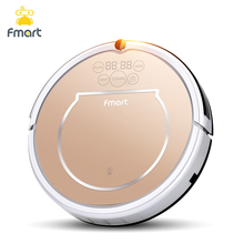 Fmart E-R302G(S)3 in 1Robot Vacuum Cleaner Home Cleaning128ML WaterTank Wet 300ML Dustbin Sweeper Aspirator Cleaning