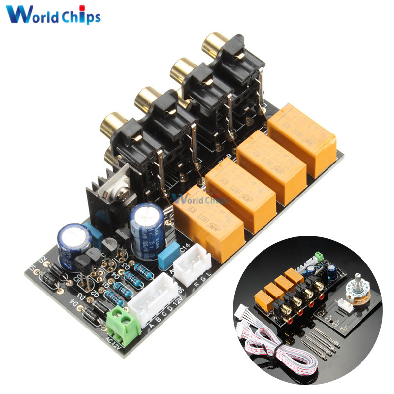 Signal Selection Switch Board Audio Source Signals Switch Relay Switch