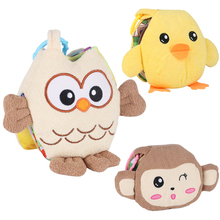 New Baby Cloth Books Ratteles Animal Style Toys Infant Kids Early Development Books Learning Education Activity Bebe Toys DS9