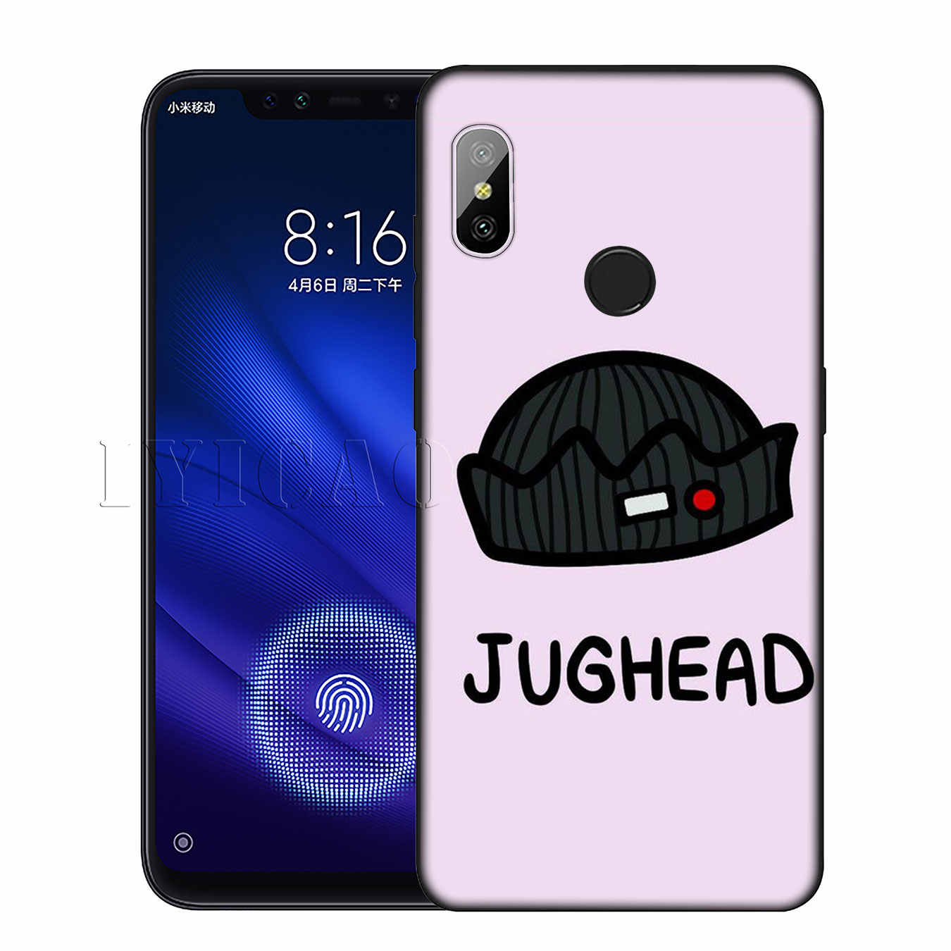 IYICAO Riverdale South Side Serpents Silicone Soft Case for Xiaomi Redmi 6A 5A Note 8 7 4 4X 5 Plus 6 Pro Black TPU Cover