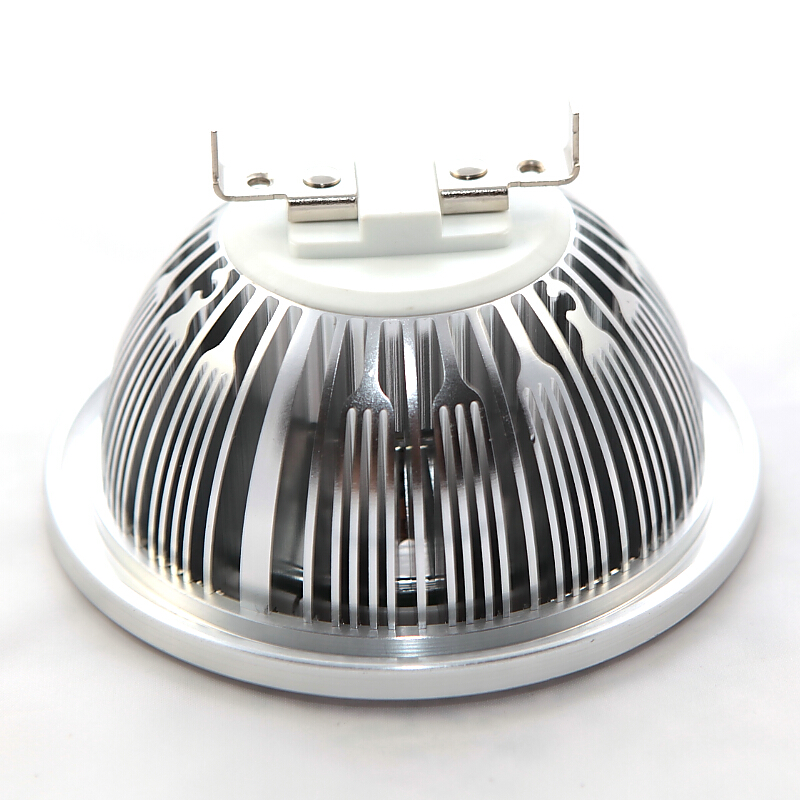 10 шт. Светодиодные прожекторы CREE УДАРА чип затемнения 10 Вт 15 Вт <font><b>G53</b></font> GU10 ar111 ES111 qr111 свет лампы DC12V AC110V-240V освещение в помещении