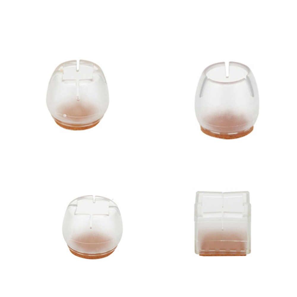 10 шт. мебельные чашки силиконовые колпачки на ножки стула напольные ножки мебель стол домашние Чехлы протекторы 4 размера