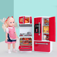Baby Home toys, simulation life Appliances kids mini kitchen cooking microwave for boy girl Gifts