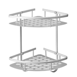 2 Tiers Bathroom Shower Shelf