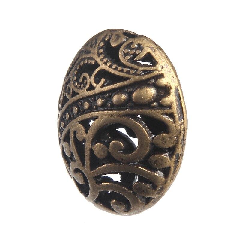 10pcs Bronze Color Beads Making jewelry DIY Charms Pendants fit Jewelry Handmade Necklace Bracelet Earrings Keychains 2.2*1.8cm jewelry diy 50pcs alloy vintage bronze verdigris flower beads european charms pendant bracelet necklace earrings findings