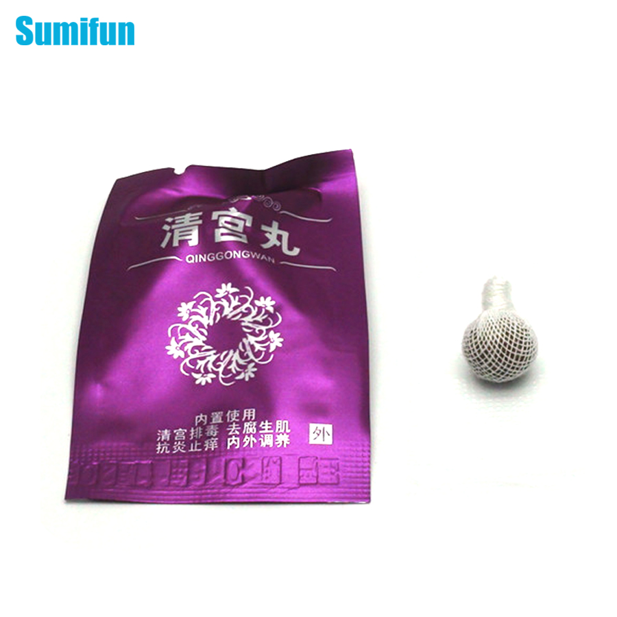 1Pcs Female Vaginal Repair Herbal Tampons Products (Beautiful Life Vaginal Clean Point Tampon) Health Care Body Massager C175