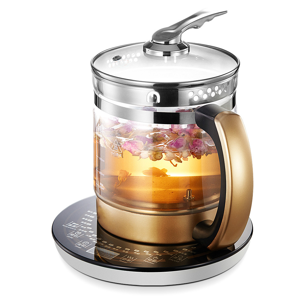 цена на Curing pot Fully automatic thickened glass - filled kettle with tea kettle/electric kettles Overheat Protection