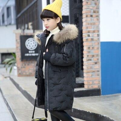 Aliexpress.com : Buy winter girl Down jackets Girl long female big ...