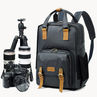lowepro Photography Photo Bag Camera Backpack Canvas Digital Camera Bags Cases For Canon Nikon Sony Lens Travel DSLR Camera Case