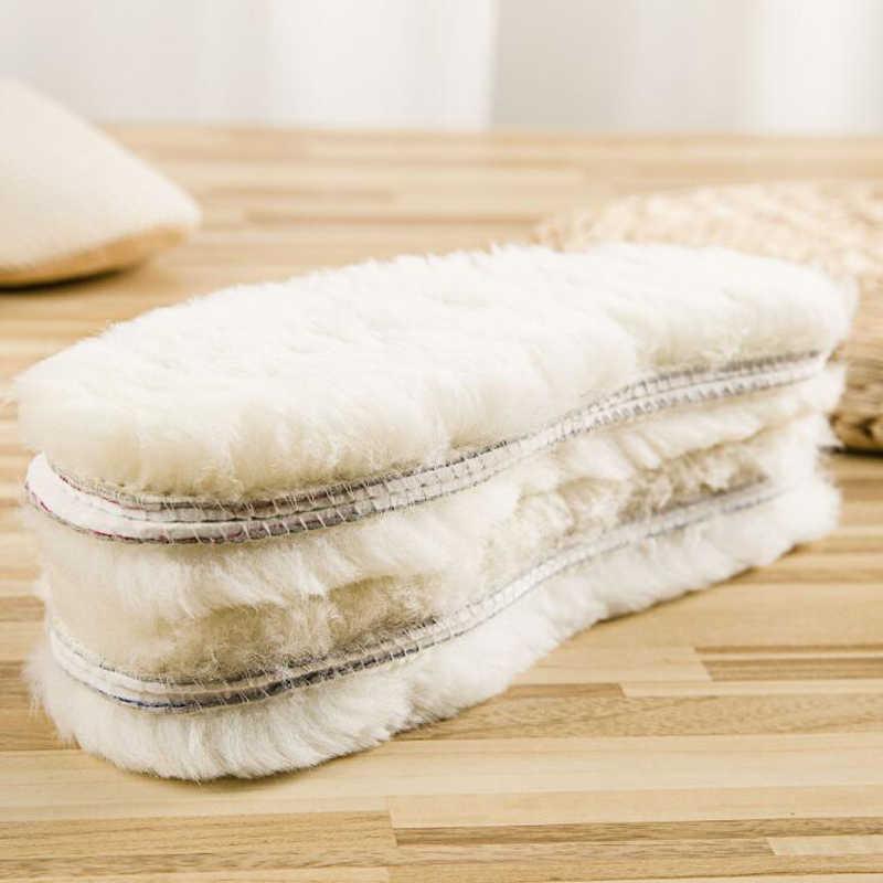 Doğal koyun derisi tabanlık kış gerçek kürk yün tabanlık erkekler kadınlar sıcak yumuşak kalın sıcak kaşmir kar botları