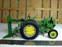 Knl хобби J Deere La трактор вспашка Машина сельскохозяйственной техники сплав модель нам speccast 1:16