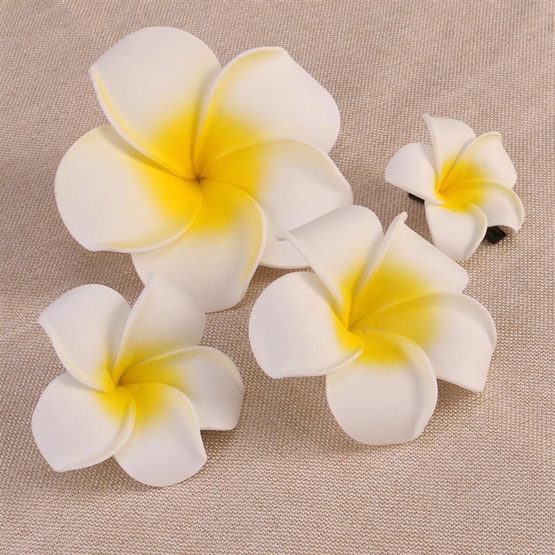 4pcs hawaiian flowers hair clips bridal barrette tropical beach 4pcs hawaiian flowers hair clips bridal barrette tropical beach wedding plumeria flower women party bridal orchid accessories in hair clips pins from mightylinksfo
