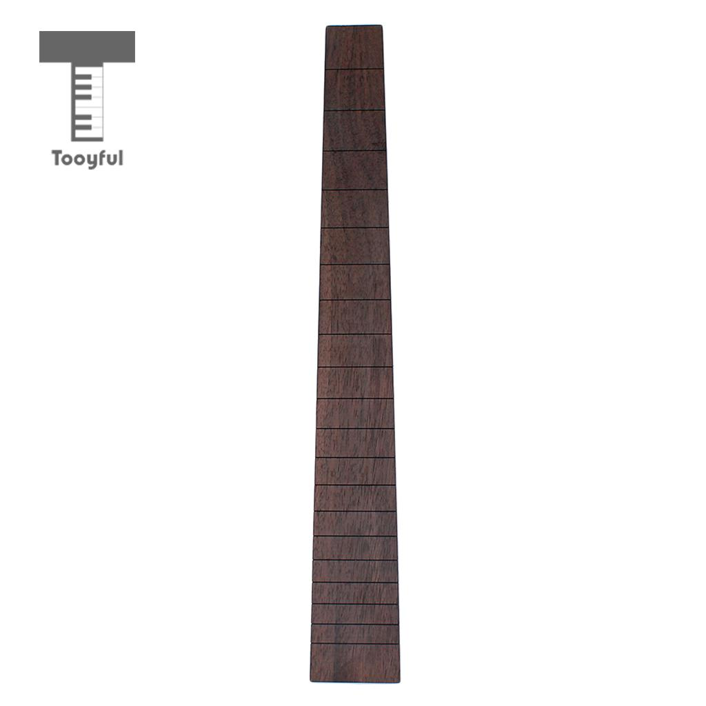 Tooyful Rosewood Guitar Fretboard Fingerboard For 41'' Acoustic Folk Guitar