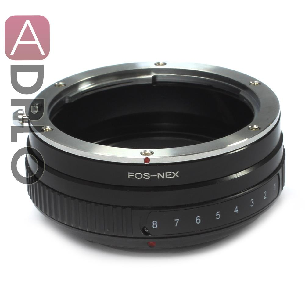 Pixco Tilt Adapter Suit For Canon EOS EF Lens to Sony NEX-7 NEX-6 NEX-5R NEX-5N NEX-F3 NEX-VG10 NEX-VG20 NEX-VG30 NEX-VG900