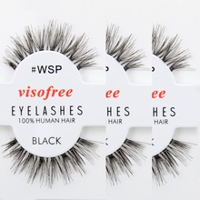 Popular 12 Pairs Handmade Long Thick False Eyelashes Fake Eye Lashes Makeup Set Natural Soft False Eye Lashes Cosmetic Tools
