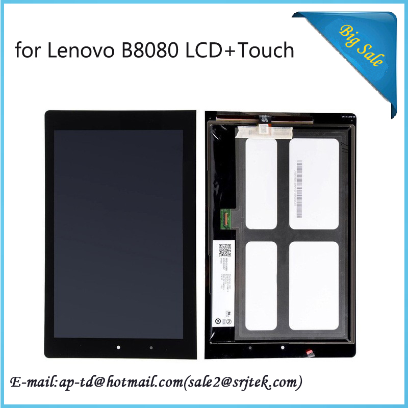 10.1INCH For Lenovo YOGA B8080 Tablet 10/B8080 10 HD+ LCD Display with Touch Screen Digitizer Sensor Full Assembly Tablet Pc