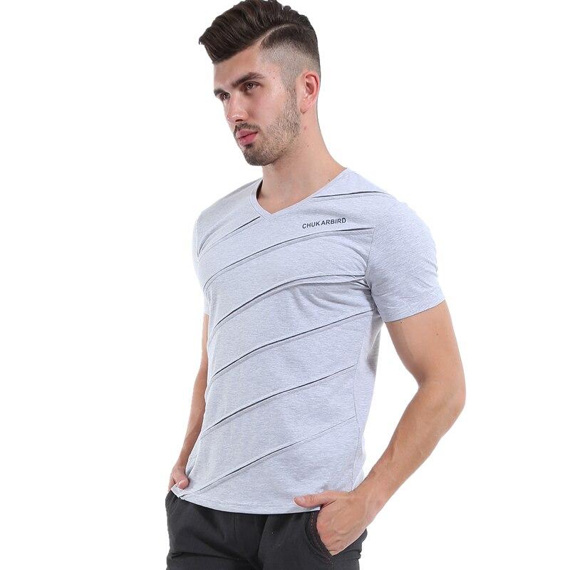 Liseaven Mens Tops & Tees V ყდის პერანგი - კაცის ტანსაცმელი - ფოტო 5