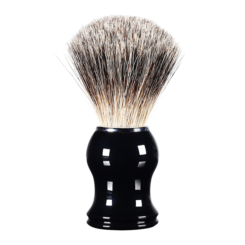 Men Beard Comb Pocket Size Badger Hair Beard Brush Hairdresser Cleaner Brush Pocket Beard Comb Shaving Brush Beauty & Health