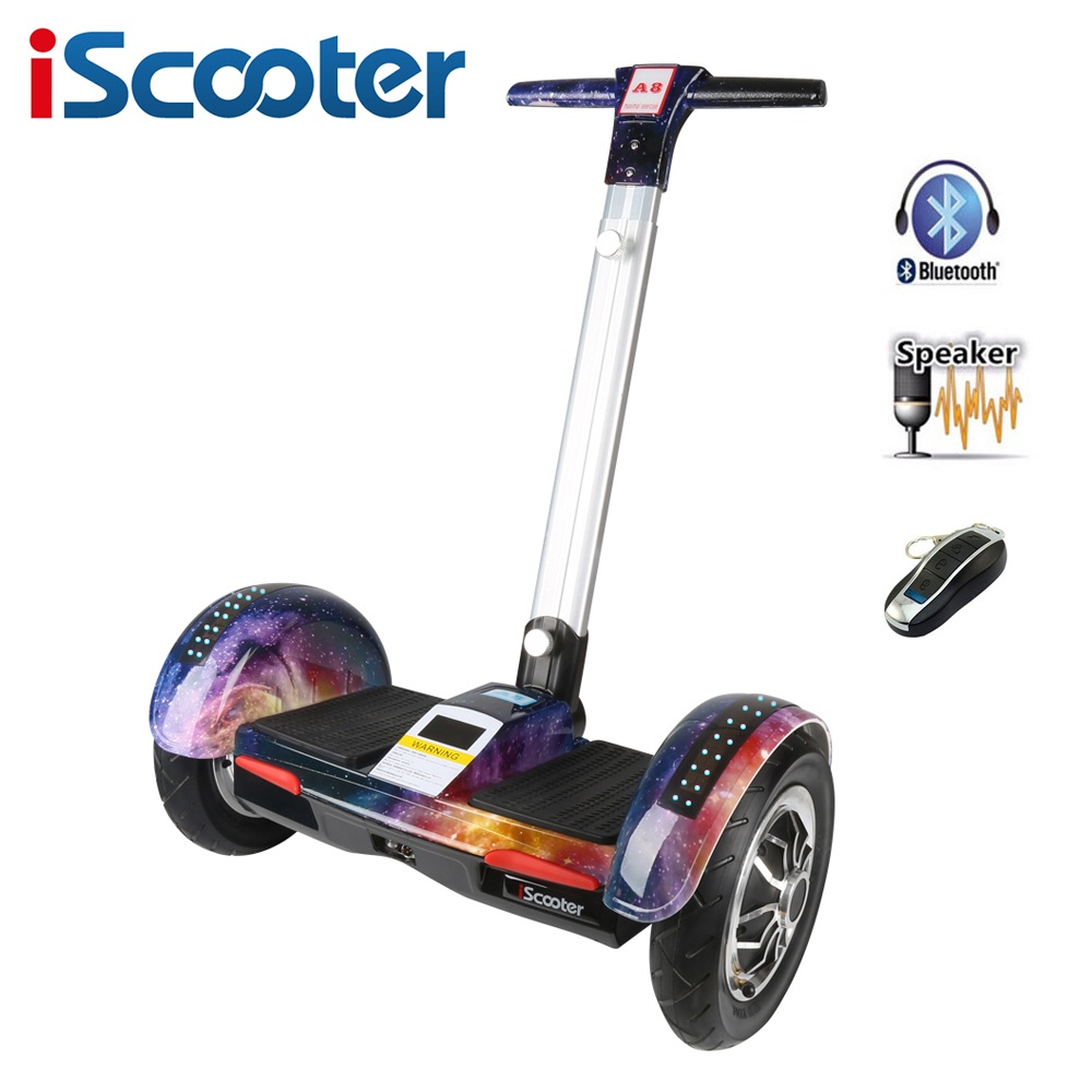 iscooter hoverboard 10 inch two wheel electric skateboard. Black Bedroom Furniture Sets. Home Design Ideas