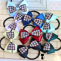 New satin ribbon bows women girls elastic hair rubber bands tie headwear ring rope accessories for women hair ornaments hairband