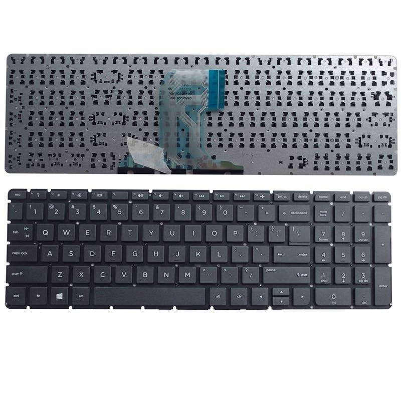 US laptop Keyboard FOR HP 250 G4 15Q aj006TX 15G-ad001tx 250G4 255G4 256G4 15-AC 15-AF 15-ac000 15-af000 English Black New new english laptop keyboard for hp pavilion 15 ab253ca 15 ab258ca 15 ab268ca 15 ab273ca 15 ab277ca with shell black us keyboard