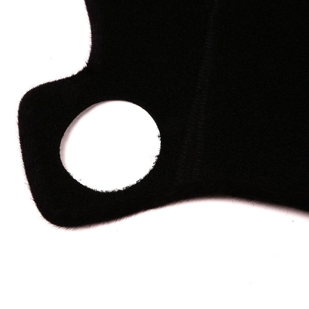 Vehemo войлочная ткань силиконовая Нескользящая приборная панель коврик Солнцезащитная Накладка для машины накладка левое сиденье водителя черные тёмные очки авто Интерьер приборная панель Крышка