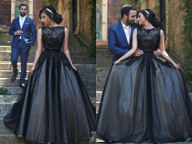 Size 6 black dress 14