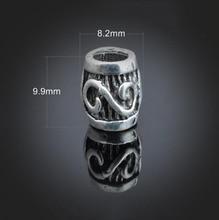 100pcs Antique Silver Charms Pendant -DIY Findings Necklace Bracelet Metal Fashion Bag Accessories 8.2X9.9mm