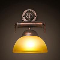 Loft retro Restaurant E27 wall lamps Bar industrial corridor balcony bedroom bedlamp warehouse outdoor wall light ZA98156