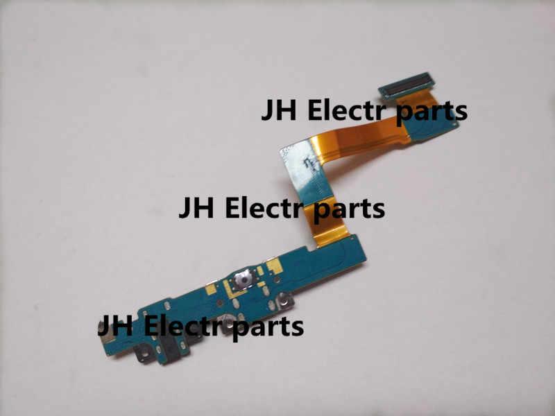 10 шт./лот, новый порт для зарядной USB док-станции, разъем зарядного устройства, гибкий кабель, задняя Задняя лента, хвостовая вилка для samsung SM-T550 T555 T550