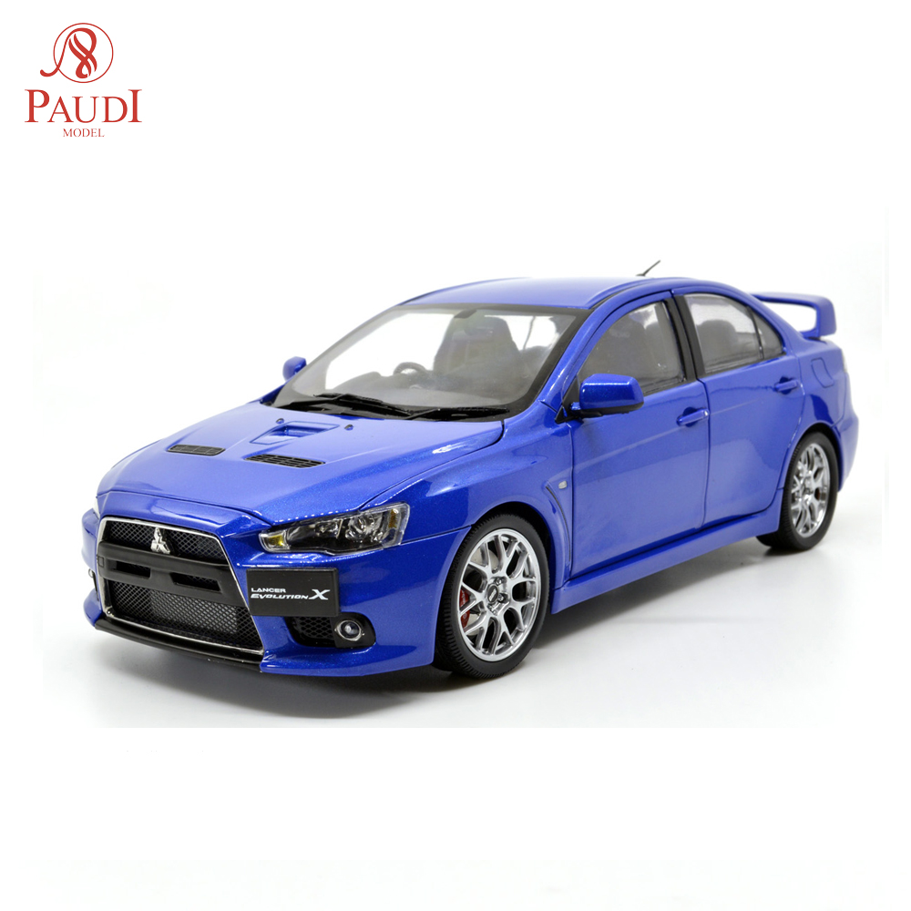 Mitsubishi Lancer Evolution X: Paudi Model 1/18 1:18 Scale Mitsubishi Lancer Evolution X