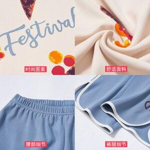 Image 5 - Plus ขนาด 3XL 4XL ฤดูร้อนชุดนอนผ้าฝ้ายบ้านกางเกงผู้หญิงชุดนอนบาง Pajama กางเกงผู้หญิงหญิง Casual Lady สวมใส่