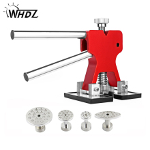 hot deal buy whdz pdr tools kit professional hand tool sets red dent lifter car paintless dent repair tools set dent puller glue tabs