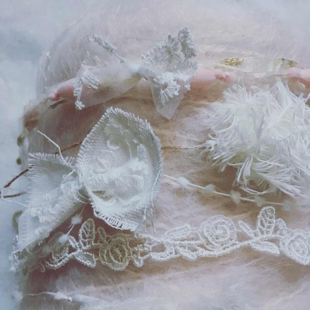 Новинка 2019 года, 6 шт./компл., милая повязка для новорожденного, Bebe, повязка на голову, винтажная повязка на голову, жемчужная тиара, кружевные аксессуары для волос