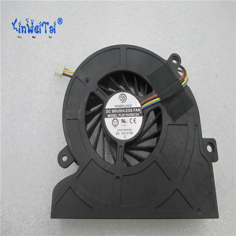 Free Shipping For POWER LOGIC PLB11020B12H DC 12V 0 70A 4 wire 4 Pin connector 65mm