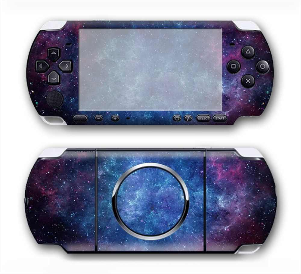 beautiful shinning star sky skin for Sony PSP 3000 Skin Stickers Custom Made Personalized Decal  #TN-PP3000-3003