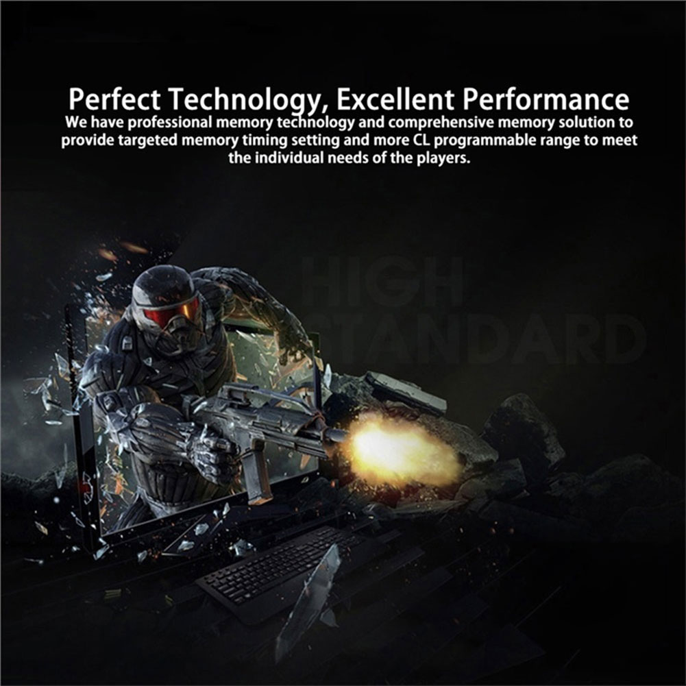 4GB DDR4 2133.0MHz Desktop RAM PC Memory Computer Memory Server High Speed for PUBG Store