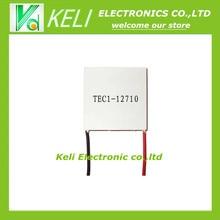Бесплатная Доставка 10 ШТ./ЛОТ Новый TEC1-12710 DC12V 10A Термоэлектрический Охладитель Пельтье 40*40*3.2 ММ TEC1 12710