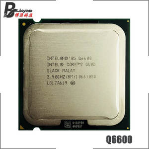Intel Core 2 Quad Q6600 2.4 GHz Quad-Core CPU Processor 8M 95W 1066 LGA 775