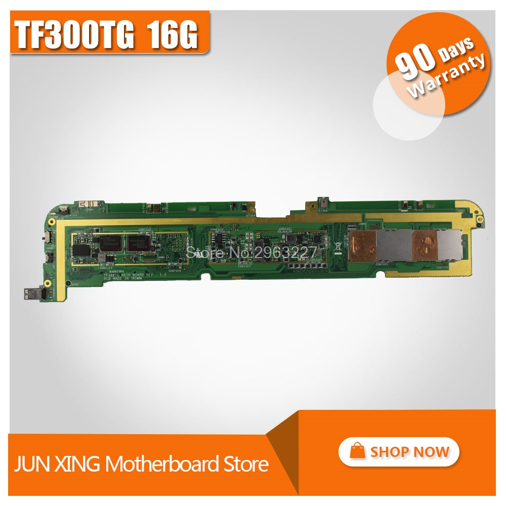 цена на For Asus TF300TG Tablet motherboard TF300TG REV1.4 16G Logic board System Board fully tested