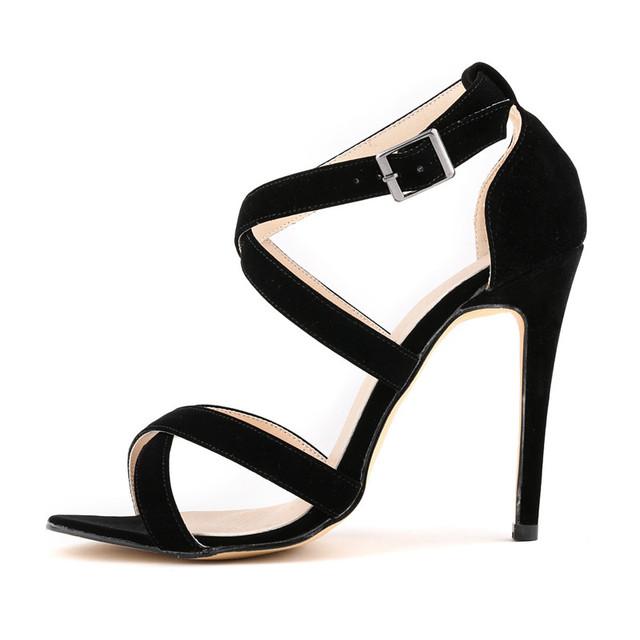 ESTILO VERÃO 2015 plataforma de moda bombas sexy alta-sapatos de salto alto sapatos de plataforma saltos finos Sapatos de Casamento das mulheres MAIS tamanho 35-42