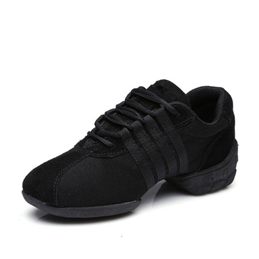 ФОТО Free Shipping Good Quality Hot Sale Breathable Black Mesh Dance Sneakers Woman Jazz  Ballroom shoes Zapatilla De Deporte